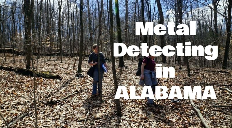 Metal Detecting In Alabama (Laws,Locations,Gold,Clubs    )